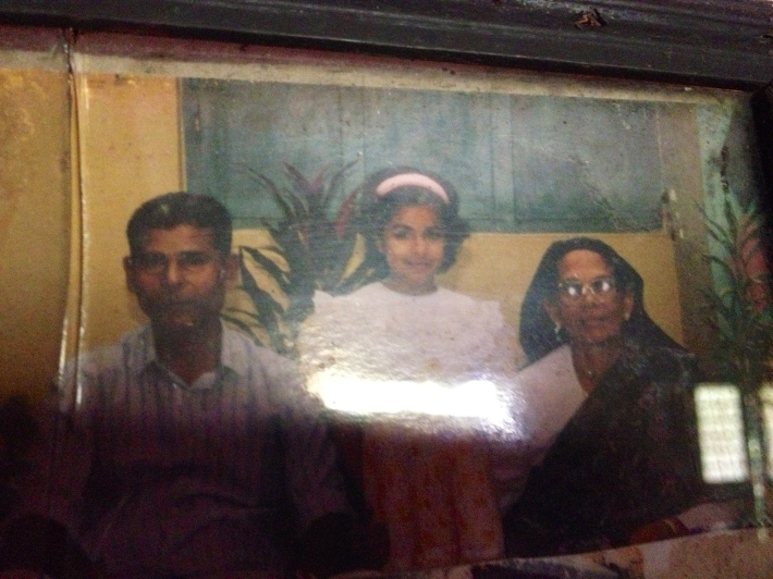 Me with my Grandfather and Grandmother
