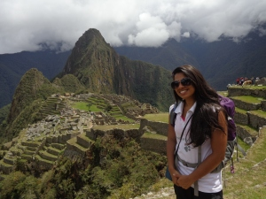 Machu Picchu and I