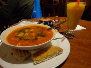 Tuscan veggie soup