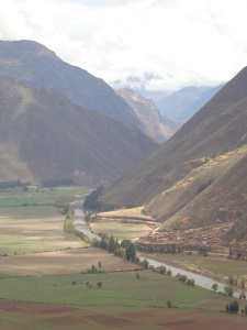 Vilka Mayu River in The Sacred Valley