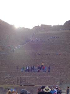 Steps at Ollantaytambo